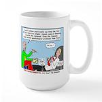 Keeping Up Large Mug