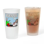 Keeping Up Drinking Glass