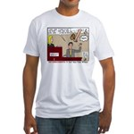 False Witness Fitted T-Shirt