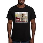 False Witness Men's Fitted T-Shirt (dark)
