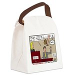 False Witness Canvas Lunch Bag