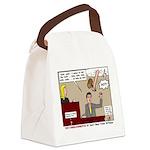 False Witness Canvas Lunch Bag