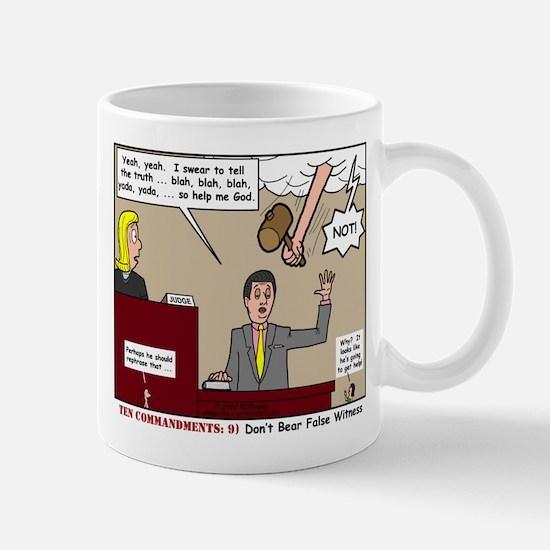 False Witness Mug