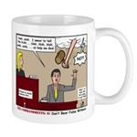 False Witness Mug