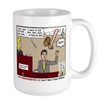 False Witness Large Mug