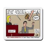 False Witness Mousepad