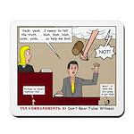 False Witness Mousepad