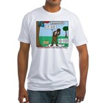 Witnessing False Bears Fitted T-Shirt