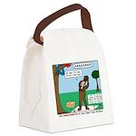 Witnessing False Bears Canvas Lunch Bag