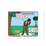 Witnessing False Bears Postcards (Package of 8)