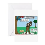 Witnessing False Bears Greeting Cards (Pk of 10)