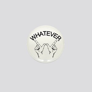 Whatever ... Hand gesture Mini Button