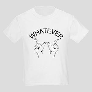 Whatever ... Hand gesture Kids Light T-Shirt