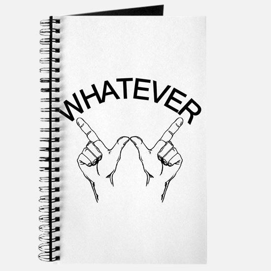 Whatever ... Hand gesture Journal