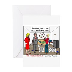 Parent Party Greeting Cards (Pk of 10)