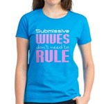 Wives Rule PINK WHITE T-Shirt