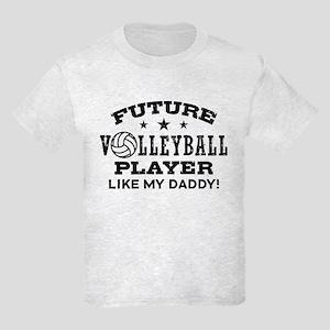 Future Volleyball Player Like My Daddy Kids Light