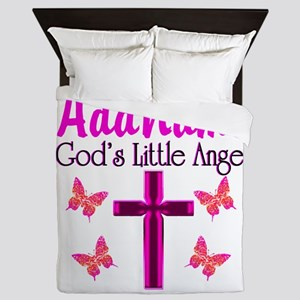 GOD'S LITTLE ANGEL Queen Duvet