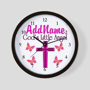 GOD'S LITTLE ANGEL Wall Clock