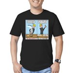 I Swear Men's Fitted T-Shirt (dark)