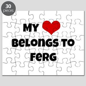My heart belongs to Ferg Puzzle