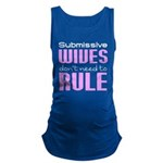 Wives Rule PINK WHITE Maternity Tank Top