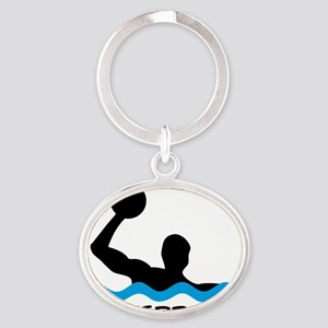waterpolo Oval Keychain
