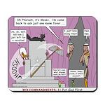 Pharaoh Uh-Oh Mousepad