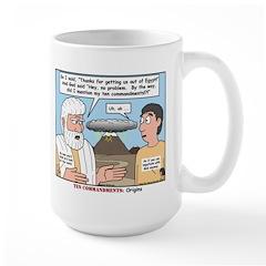 Fine Print Large Mug
