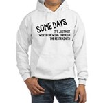 Chewing Through The Restraints Hooded Sweatshirt