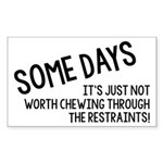 Chewing Through The Restraints Sticker (Rectangle)