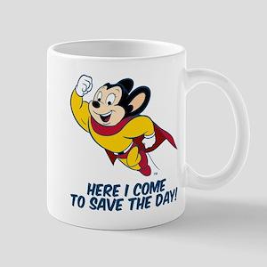 Mighty Mouse Here I Come Mug