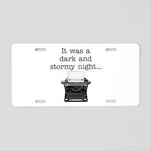 Dark and stormy - Aluminum License Plate