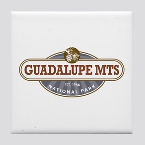 Guadalupe Mountains National Park Tile Coaster