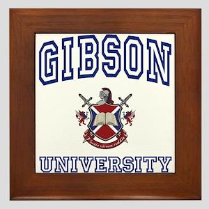 GIBSON University Framed Tile