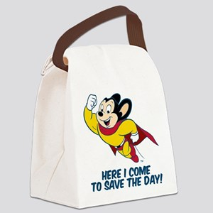 Mighty Mouse Here I Come Canvas Lunch Bag