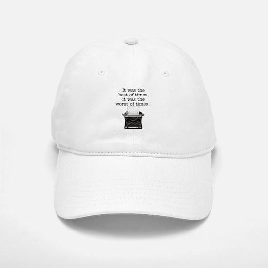 Best of times - Baseball Baseball Cap
