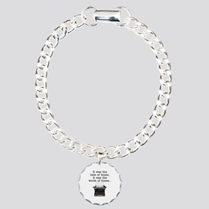 Best of times - Charm Bracelet, One Charm