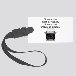 Best of times - Large Luggage Tag