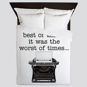 Best of times - Queen Duvet