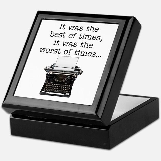 Best of times - Keepsake Box