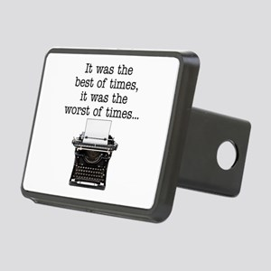 Best of times - Rectangular Hitch Cover
