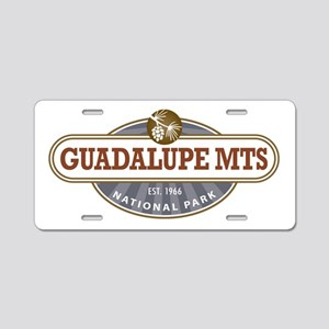 Guadalupe Mountains National Park Aluminum License