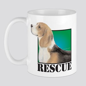 beagle RESCUE Mug