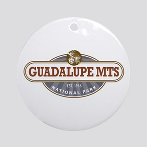 Guadalupe Mountains National Park Ornament (Round)