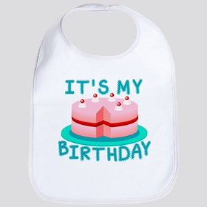 Its My Birthday Cake Bib