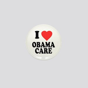 I Love Obamacare Mini Button