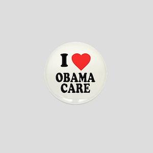 I Love Obamacare Mini Button