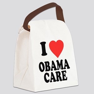I Love Obamacare Canvas Lunch Bag