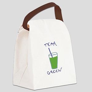 Team Green Canvas Lunch Bag